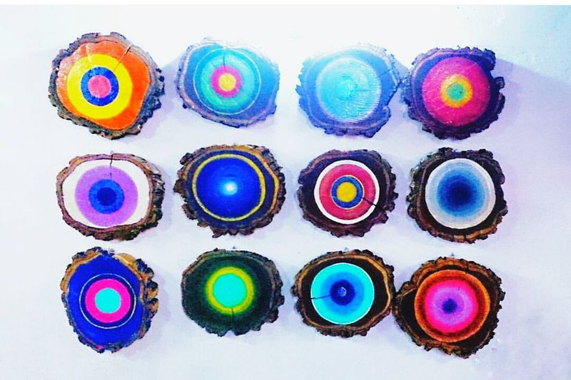 Pequeñas Dosis de Amor ❤ Dinner Metting Lovely Art Colors