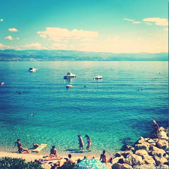 Holiday in Mošćenička Draga, Croatia Kroatie Kroatien Adriatic Sea Croatia