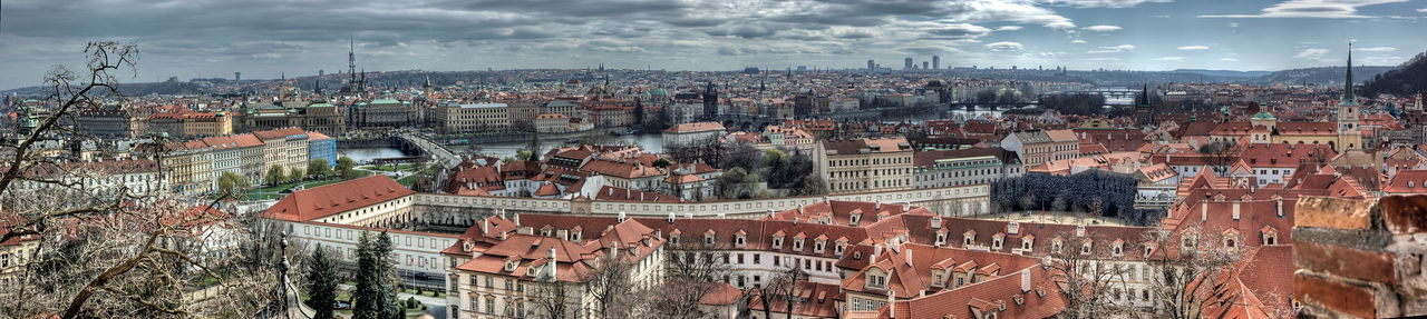 Building Exterior Architecture City Built Structure Cityscape Cloud - Sky Building Sky Panoramic Nature Residential District Krakow Kraków, Poland Sashalmi Roof Panorama Poland High Angle View Day Panoramic