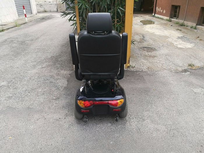Chair Electric Scooter Wheel WhellChair Disability  Elderly Parked Senior Vehicle Wheelchair