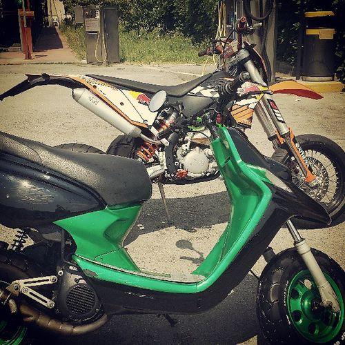 Booster Ng Nextgeneretion 70cc ktm 125cc redbull monster autolavaggio