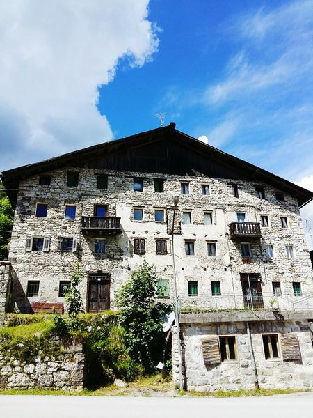 Amazing Architecture Abandoned Buildings Anybody Home? Small Mountain Village