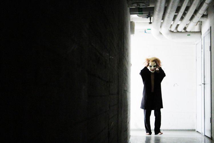 Happy Halloween! Portrait TheWeekOnEyeEM Joker Learn & Shoot: Single Light Source