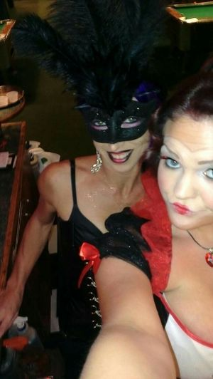 Enjoying Life Today's Hot Look Dressing Up Queenofhearts Myeyem Workselfie Poolhall
