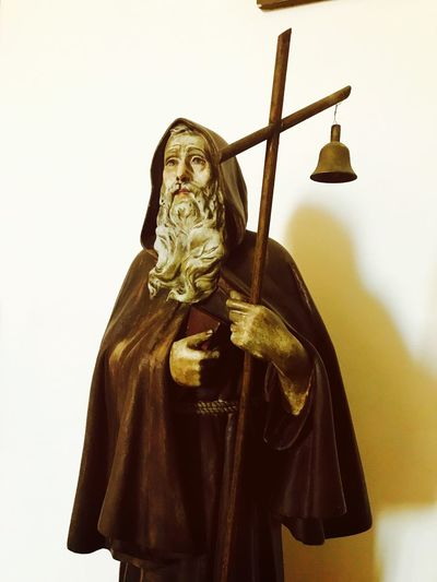 Statue Human Representation Sculpture Spirituality Indoors  Fiuggi IPhone7Plus IPhone IPhoneography