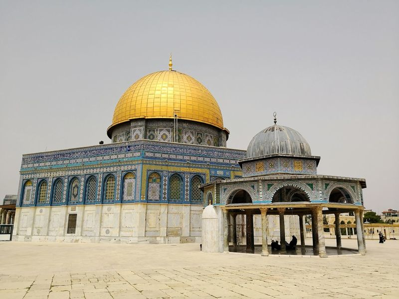 Dome of the Rock on Temple Mount in Jerusalem Israel Dome Of The Rock Jerusalem Dome Of The Rock Israel Jerusalem Old City No People Day City Politics And Government Dome Place Of Worship History Sky Architecture Built Structure Mosque Church Pilgrimage Spirituality Façade Temple - Building Religion Cupola Idol Steeple