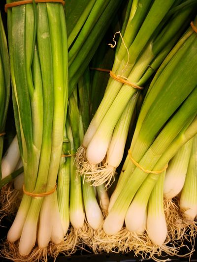 Green leek Leeks Vegetable Vegetable Market Agriculture Raw Food Bunch Quality Close-up Green Color Food And Drink Legume Family Leek Farmer's Market Plant Bulb Bean Bundle Root Vegetable Market Stall Rubber Band Agricultural Field For Sale Cultivated Land Display Price Tag Farmer Market Retail Display Stall Crop  Street Market