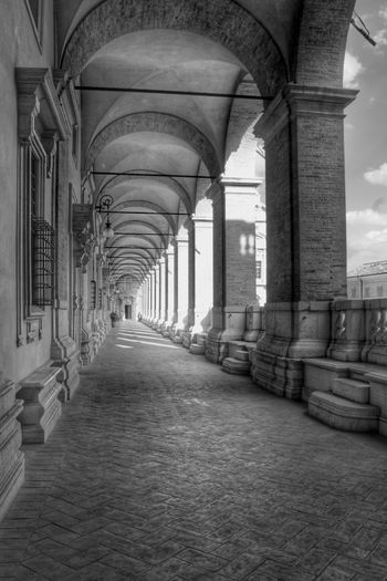 If you don't have any shadows, you're not in the light Pórtico Gallery Arcade Blackandwhite B&w Black And White Collection  Black And White Architecture Architecture Architecture_collection Loreto Ancona Marche Italy Italia Church Light And Shadow Religion Religious  Madonna Maria Trip Traveling Holidays Summer Showcase: February