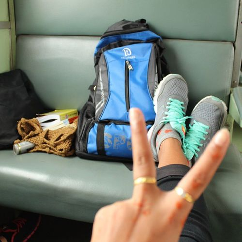 life is journey. we have only one life and we never know how much time we have so... use it make a beautiful day and make you life happiness Travel Traveler Bytrain Thailand Thaigirl