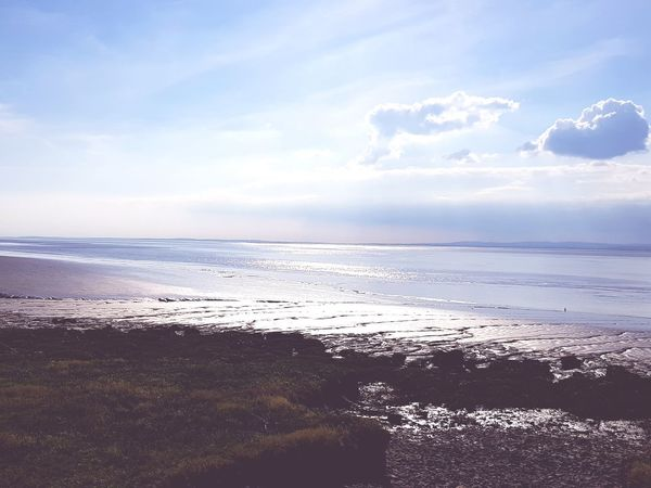 Water Sea Beach Wave Sand Sunset Blue Low Tide Summer Sun Coastline