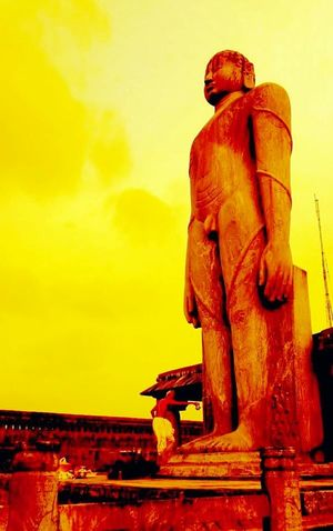 Mahamastakabhishek Karkala Dharmasthala Shravanabelagola Venur Photography EyeEm Best Shots Sculpture Stone Statue Stone Art Sculptures Jainism JAINISM👏 BahubaliBhagwan