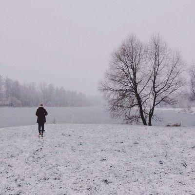 Vscocam Snow Lake VSCO vscorussia russia pushkin gloomy