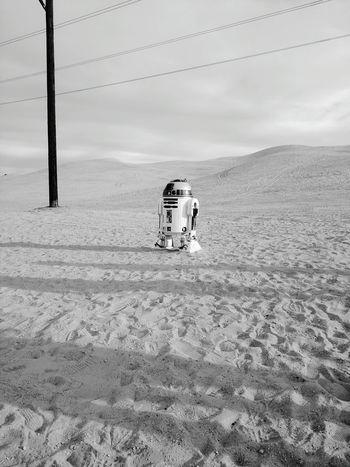 R2D2 Droid Starwars Star Wars Sand Dunes Desert Dune Sea Yuma Yumaaz