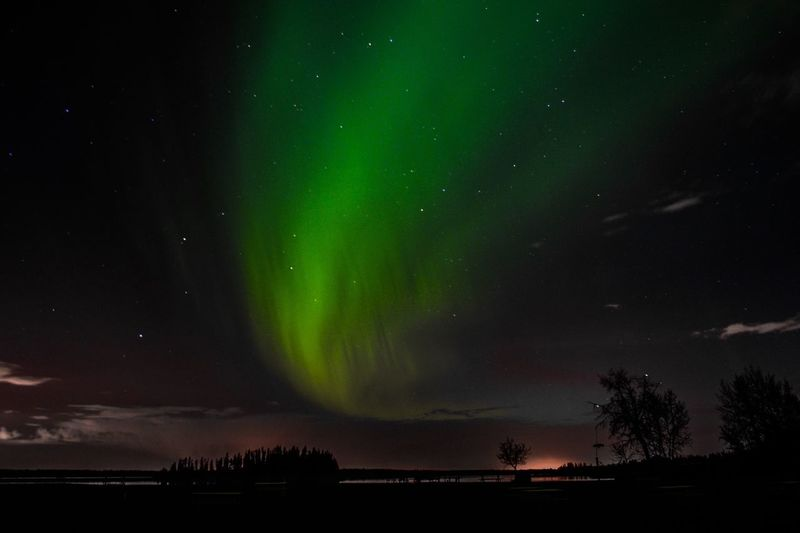 The Northern Lights Aurora Borealis Northern Lights Night Space Beauty In Nature Star - Space Astronomy Sky Scenics - Nature Tranquil Scene Natural Phenomenon Space And Astronomy Majestic Nature Dramatic Sky No People