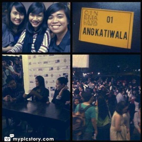 The Cinemalaya experience. Watched Ang Katiwala. Good film! Kudos to the prod team  Cinemalaya AngKatiwala Instagram