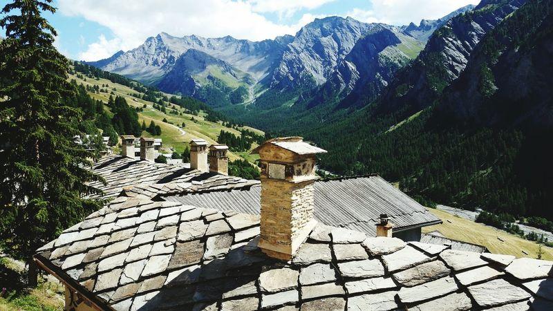 Mountain Queyras Toiture