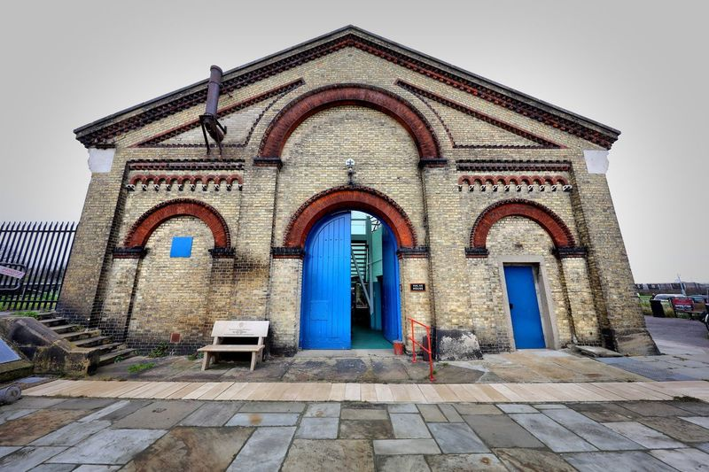 Crossness Pumping Station Architecture Built Structure Religion Belief Building Exterior Place Of Worship Spirituality