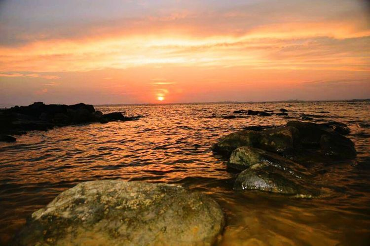 Greatsouthbay Sunset Pinksky Longislandsunset Longisland Suffolkcounty Baylife Saltlife Sunset_collection Summertime