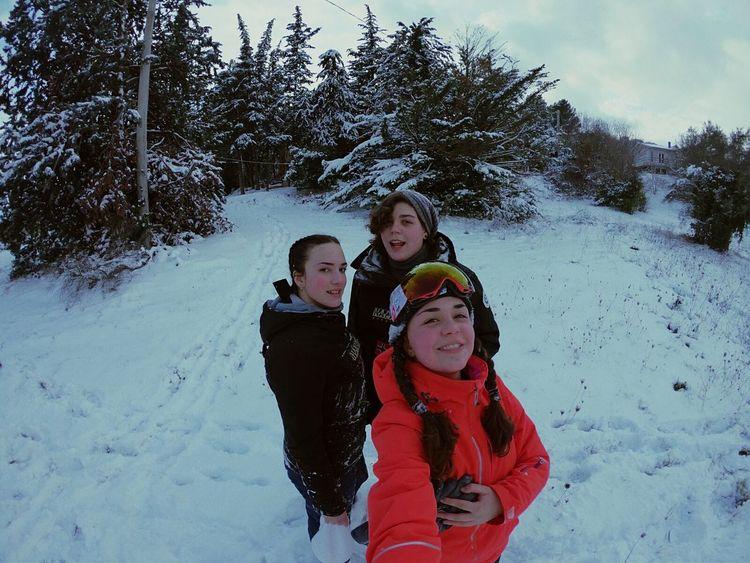 Snow ❄ Friends GoProhero6 Italy🇮🇹 Noschool Wintertime