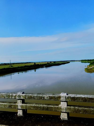 Bridge Over Water Bridge View Bridge Over The River Wide Farm Corn Field Corn Filed On River Bank River Bank View River Side Isabela Philippines Land Of Corn