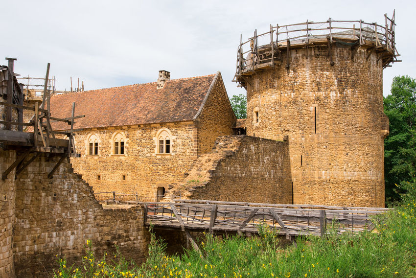 Castle Construction Construction Site Abandoned Architecture Building Building Exterior Built Structure Day Grass History House Industry Land Medieval Medieval Architecture Nature Old Outdoors Plant Ruined Sky The Past Tower Wall