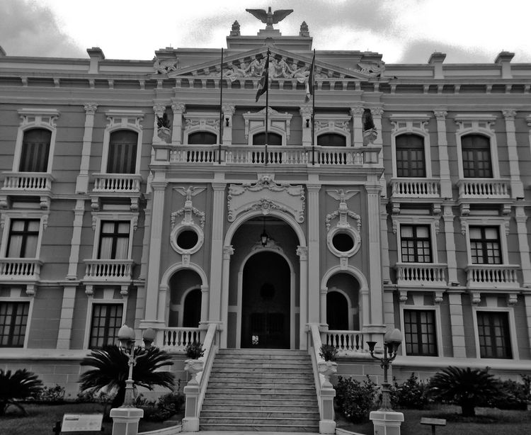 Architectural Column Architecture Building Built Structure City Façade Outdoors Palace Palácio Anchieta Sky The Architect - 2016 EyeEm Awards