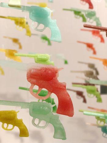Sugar Guns ArtWork Sugar Food And Drink Close-up Focus On Foreground