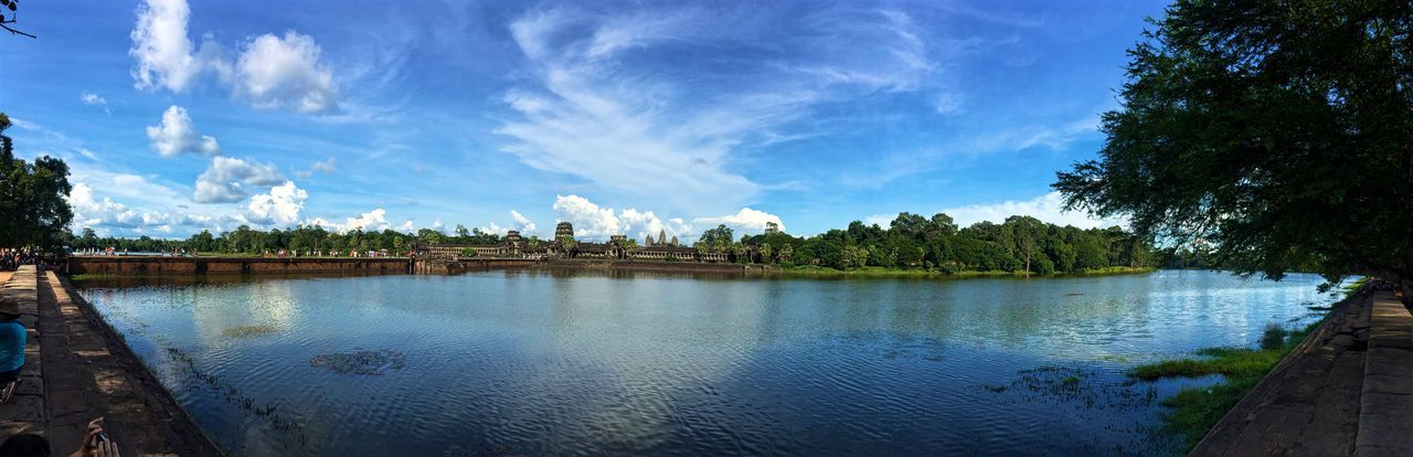 S C E N E R Y. Angkor Wat Cambodia Travelling Goasean World Heritage Water Reflections IPhoneography Iphonephotography Iphone6