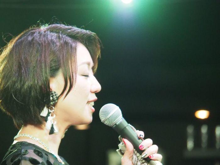 OSAKA Japan ASIA Suita Take Five Natsuki Morikawa Jazz Live Singer  Music Beautiful Woman Night Singing Healing Olympus PEN-F 大阪 日本 吹田 森川七月 美人 女神 可愛い 癒し 最高の時間