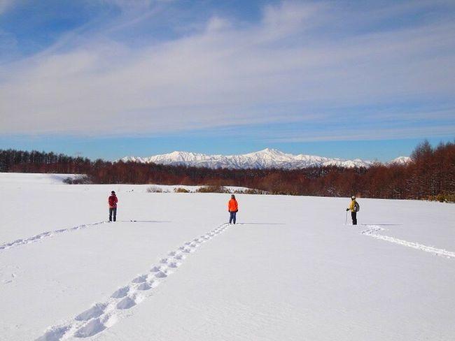 2013.1.5白山をのぞむ Winter Snow Outdoors Beauty In Nature Mountain Hiking Snowhike Japan 飛騨牧場 白山