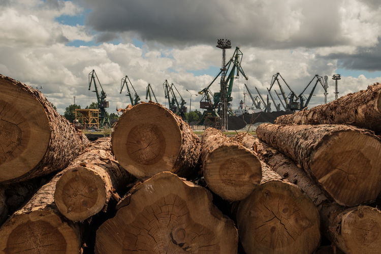 Poland Harbor Industry Poland Is Beautiful Cloud - Sky Gdansk No People Port Gdańsk Wood Wood - Material Harbor Industry Poland Is Beautiful Cloud - Sky Gdansk No People Port Gdańsk Wood Wood - Material Industry Wood