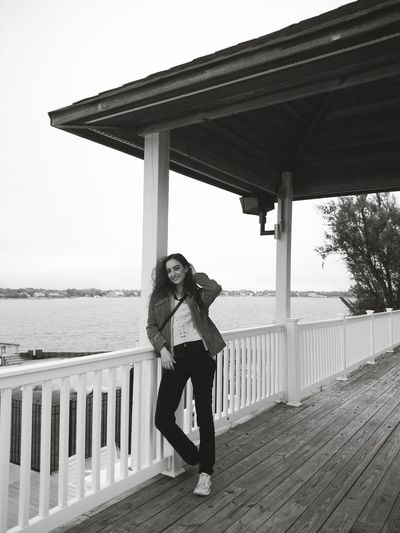Women New York Hampton Bays Like First Eyeem Photo Day Individuality One Young Woman Only Looking At Camera Warm Clothing Young Adult Young Women Front View Mid Adult Standing One Person Only Women One Woman Only Adults Only Redhead People Portrait Adult