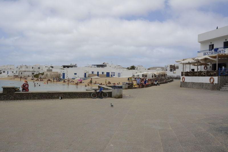 Outdoors Beach Sea Playa Agua Mar Arena Lanzarote Canarias La Graciosa People