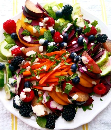 Veggie+ fruit salad