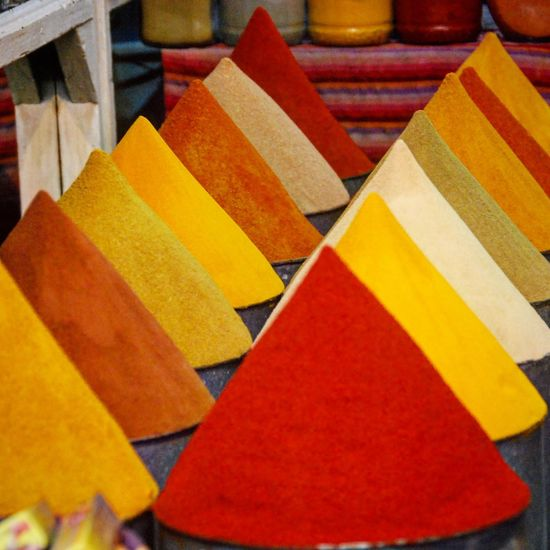 Marrakech spice market Market Morroco Spice Collection Spices Of The World Spices Morroc Marrakech Multi Colored Indoors  Close-up No People Variation Red Food Stories An Eye For Travel Colour Your Horizn Stories From The City Adventures In The City