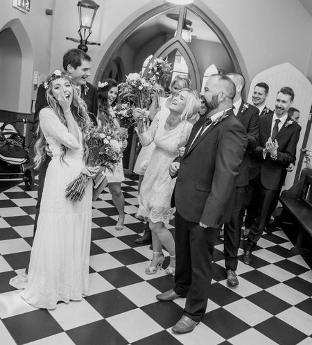 Hanveys! Hanveys! Hanveys! First Eyeem Photo Wedding Wedding Photography Bride And Groom Bridesmaids Groomsmen Wildflowers Northern Ireland Bohoweddings Blackandwhite