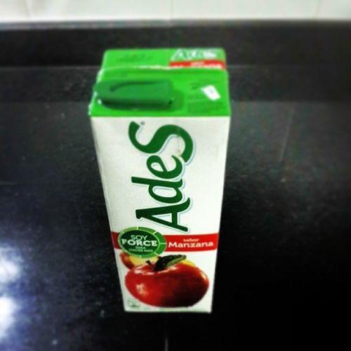 El mejor jugo, no se discute Juice Apple Ades Techapo