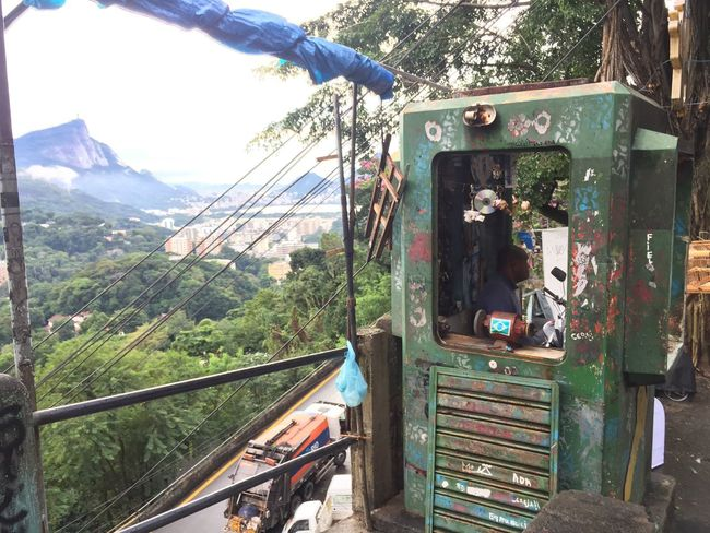 Street life in Rocinha Favela in Riodejaneiro