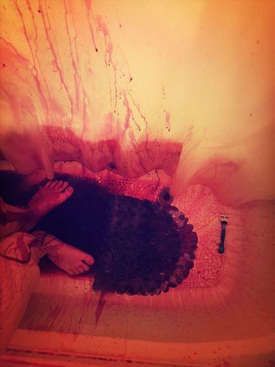 Blood Shower Hairdye