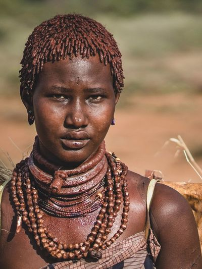Hamerwoman Tribal Portrait Of A Woman Portrait Photography Portraits Tribes Ethiopia Ethiopian African Africa Ethiopian Photography 🇪🇹 Portrait One Person Headshot Women Jewelry Adult Necklace Focus On Foreground Lifestyles Looking At Camera Real People Close-up Serious Females Day Sunlight Leisure Activity Young Adult Outdoors EyeEmNewHere