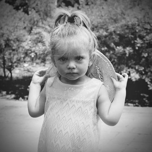 Pretty Girl Babies Love Greatgrandniece Blackandwhite Photography People Kids Portrait Of A Child Portrait Seriousface Popular Photos