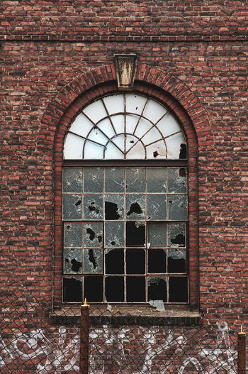 Window of old building