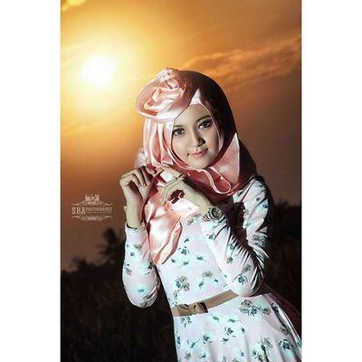 Irna Fathya Photoshoot Hijabstyle  Bpb Strobist sbaphotography