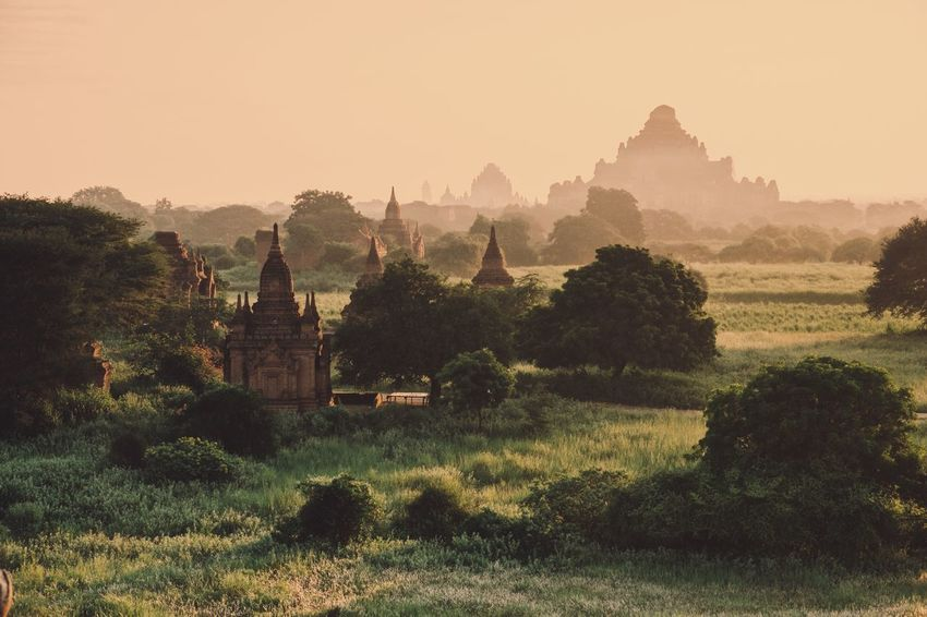 Architecture Myanmar Pagoda Myanmarphotos Myanmar Culture History Architecture Plant Architecture Tree Built Structure Building Exterior Religion Sky Ancient Civilization Outdoors Travel Nature No People History Spirituality Belief