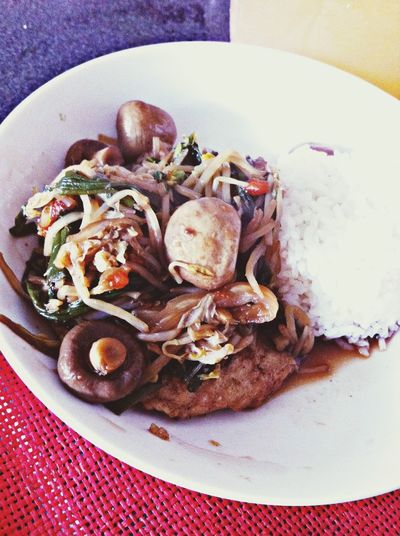Being Healthy C; Mushrooms CChinese Food