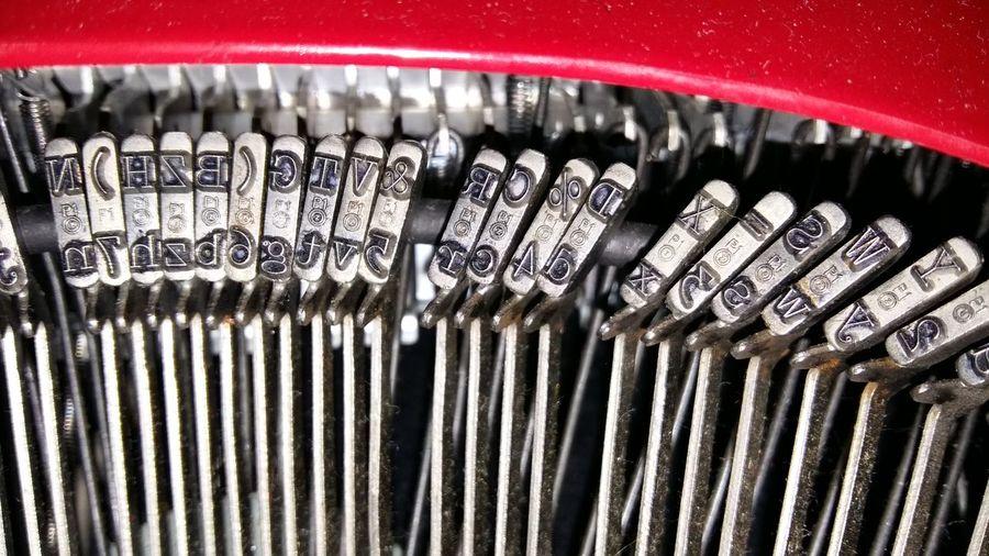 Close-up of padlock on metal