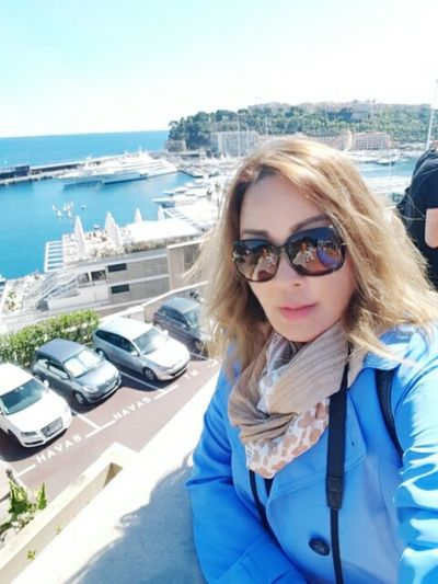 Feeling Lucky Lizara ❤️ Woman With Style Like A Boss Lizaratravelphotography Travel Photography That's Me People Watching Shipping Docks Monaco