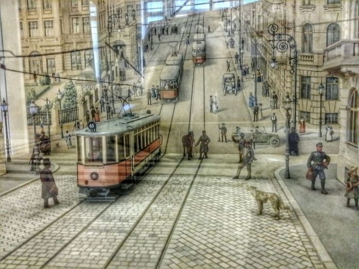 A street some time ago in Wien Austria . A great look at Streetphotography and Architecture . Happy Sunday!