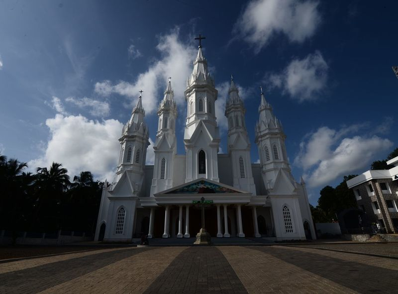 The church Place Of Worship Church Built Structure Cathedral Wide Angle Architecture Chapel Sky Building Exterior Spirituality TheWeekOnEyeEM Carefree Trying Something Different Capturingeverymoment Vacations Nikon Photography NikonD5100 Nikon From My Point Of View Capture The Moment