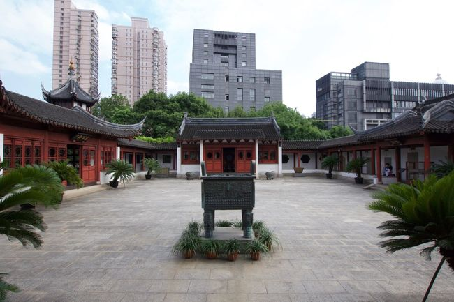 Confucius' Temple (yard) Architecture Building Building Exterior Built Structure City City Life Cityscape Confucianism Day Green Color Growth Modern No People Office Building Old And New Architecture Outdoors Plant Residential Building Residential District Residential Structure Sky Tall - High The Way Forward